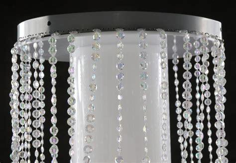 bendable ft jewel crystal iridescent diamond cut curtain ft