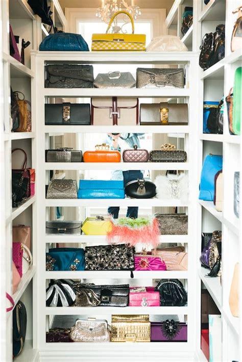handbag closet contemporary closet  coveteur