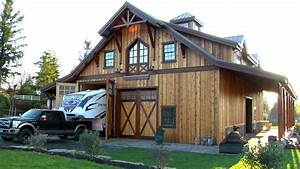 barn pros timber framed denali 60 gable barn youtube With barn pros reviews