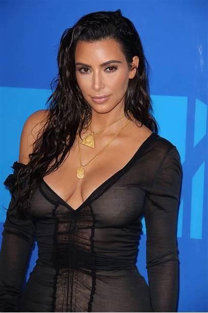 Boobs Naked Cleavage Transparent Kim Kardashian