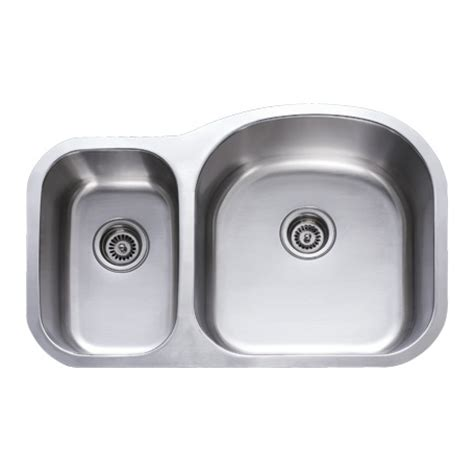stainless steel undermount kitchen sink double bowl 31 inch stainless steel undermount 30 70 double bowl