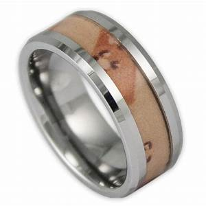 Men39s desert camo tungsten wedding ring camouflage band by for Tungsten camo wedding rings