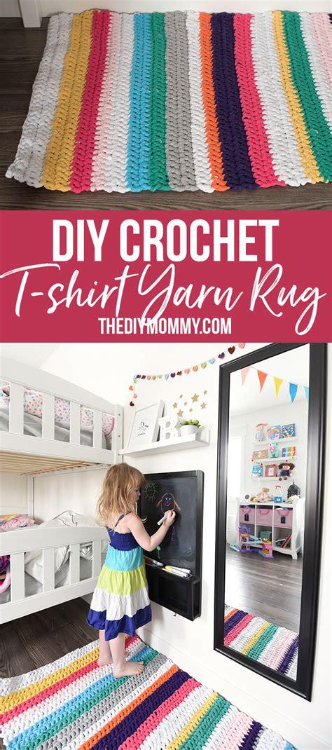 crochet   shirt yarn rug