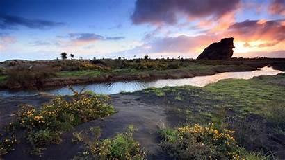 Landscape Definition Nature Sunset