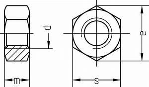M10 Schraube Durchmesser : sechskantmutter m10 din934 kl 8 galvanisch verzinkt 6 kant mutter sonderpreis baumarkt ~ Watch28wear.com Haus und Dekorationen