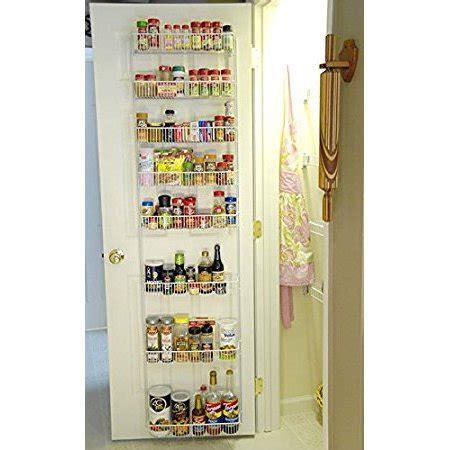 Pantry Organizers Walmart 18 Inch Wide Adjustable Door Rack Pantry Organizer