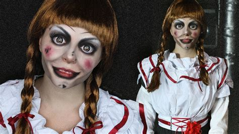 Horror Puppe by Creepy Doll Makeup Tutorial Annabelle The Conjuring