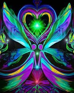 Twin Flames, Heart Chakra Art, Reiki Healing Energy ...