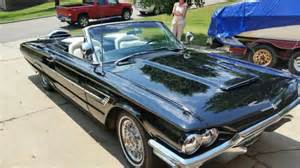 1965 Ford Thunderbird Convertible Lincoln Mercury T