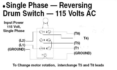 Single Phase Motor With Capacitor Forward Reverse