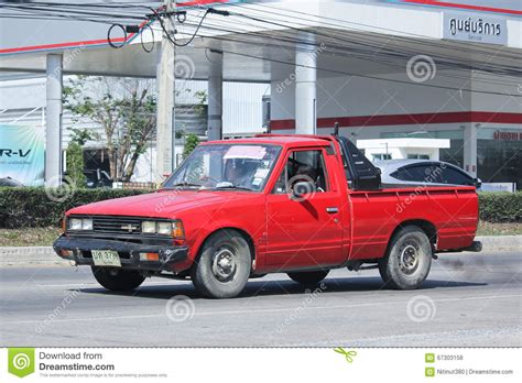 old nissan truck private old nissan diesel truck editorial image