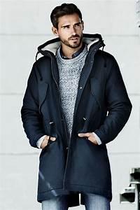 Winter Essential: Men's Winter Parka Overcoat - Men ...
