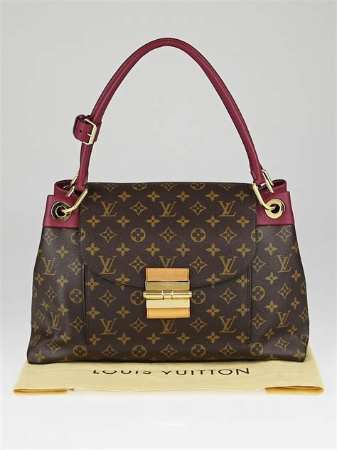 louis vuitton aurore monogram canvas olympe bag yoogis