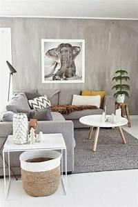 salon gris amazing canap gris designs en nuances grises With amazing tendance couleur peinture salon 9 inspirations peinture rose et violet castorama