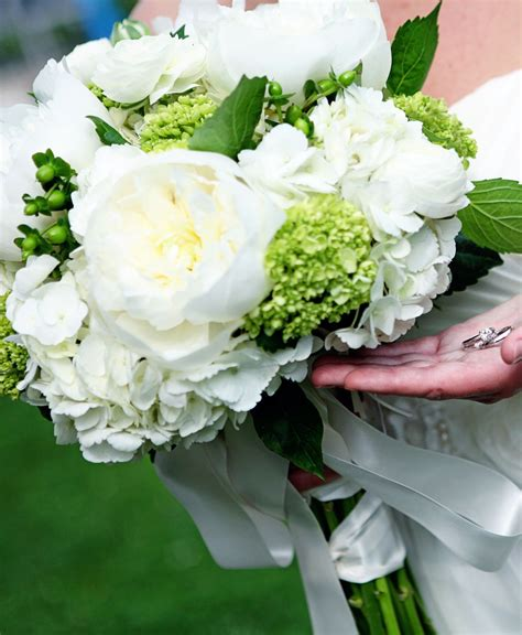 peonies and hydrangeas as bouquets and centerpieces with