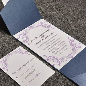 cheap pocket wedding invitations from With wedding invitations cheap but elegant