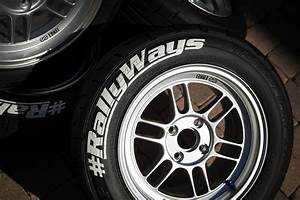 tire printing creativity by evod garage rallyways With how to paint the letters on your tires white
