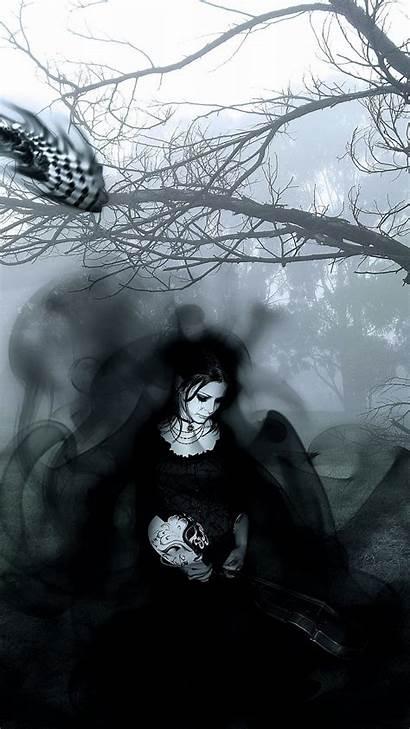 Gothic Backgrounds Dark Iphone Cool Wallpapers Desktop