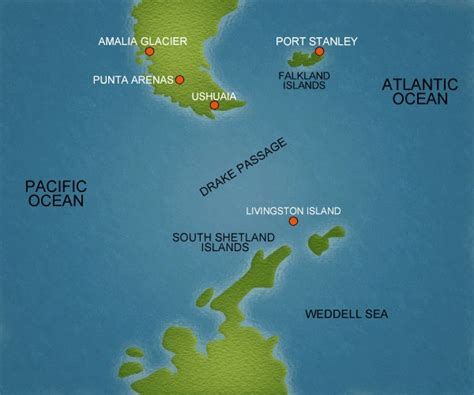 drake passage antarctica cruise port schedule cruisemapper