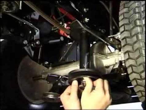 mtd lawnflite 400 series 36quot drive belt removalmp4 youtube