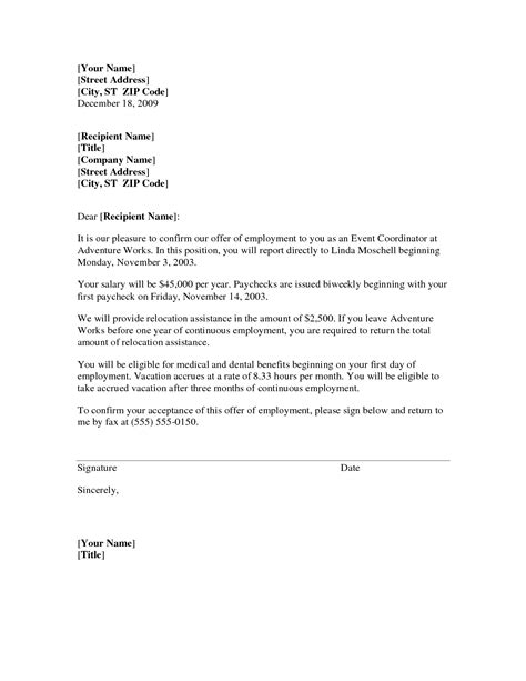 cover letter relocation exles the best letter sle