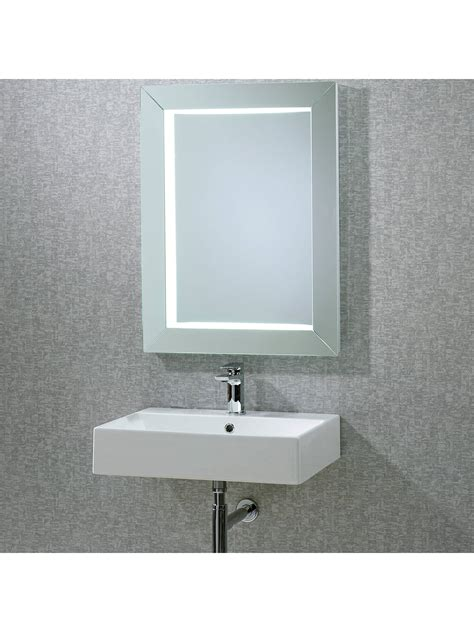 roper rhodes sense frame illuminated bathroom mirror