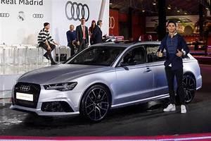 Audi Distribue Les Voitures 2017 Au Real Madrid