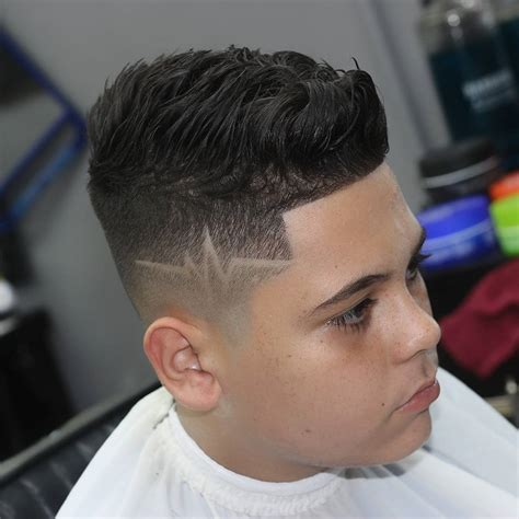 Fade Haircut With Lines   www.pixshark.com   Images