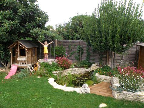 reve de gosse  bassin dans le jardin blognaturefr