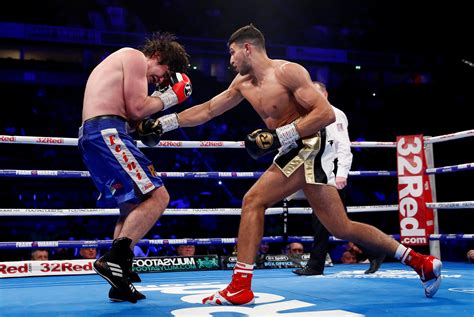 Tommy Fury wins pro debut with points victory in ...
