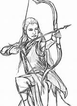 Coloring Hobbit Printable Tauriel Sketch Deviantart Trolls Stats Downloads Everfreecoloring Template sketch template