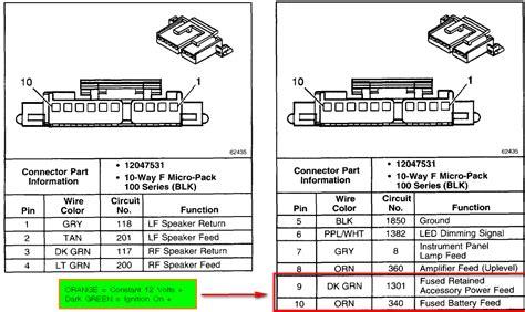 93 S10 Radio Wiring by 1993 Chevy 1500 Radio Wiring Diagram Wiring Schematic