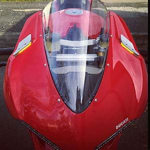 Ducati 1299 Panigale Mirror Block Off Front Turn Signals