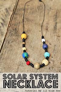 Space Craft For Kids  Solar System Necklace