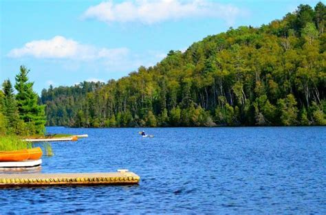 Boat Rental On Clearwater Lake Mn by Kayak On Flour Lake Picture Of Golden Eagle Lodge Grand