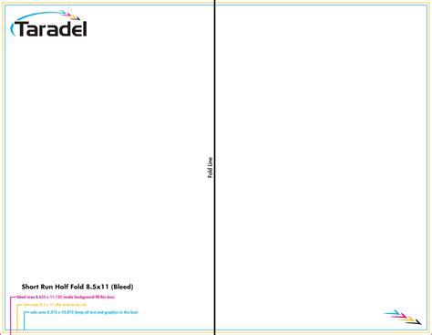 Half Fold Brochure Template Word by Taradel Brochures Templates
