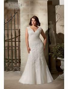 mori lee 3177 curvy girls lace wedding dress ivory With curvy girl wedding dresses