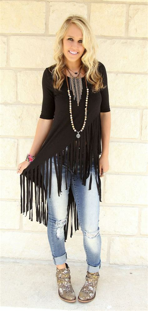 131 best images about concert looks on Pinterest | Concert fashion Fringes and Country concert ...
