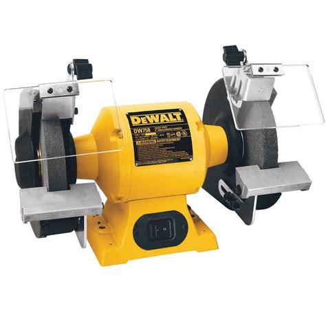 Diy Kitchen Organization Ideas - dewalt 8 in 205 mm bench grinder dw758 the home depot