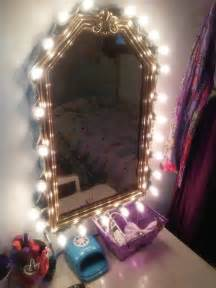 diy vanity mirror i made with a cheap goodwill mirror duct and a box of larger