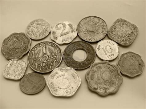 Different Types Of Indian Currency Antique Coins Royalty