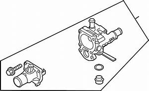 Chevrolet Aveo5 Housing  Thermostat Housing  Thermostat Hsng  2009