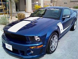 Vista Blue 2009 Ford Mustang Roush 429R low miles For Sale - MustangCarPlace