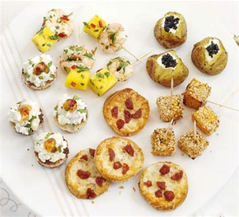 easy cheap canapes savoury bites recipe food