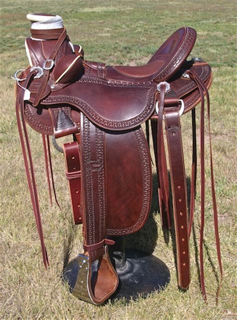 saddles horn western roping leather outwestsaddlery saddle horse tree tack wide extra horses saddlery jeremiah fork wrap watt rawhide binding