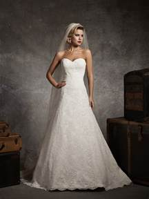 sweetheart wedding dresses a stunning collection of sweetheart strapless lace wedding dresses cherry