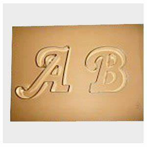 letter a cookie cutter fancy gt bakery supply With fancy letter cookie cutters