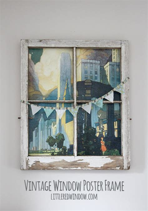 vintage window diy wall art favecraftscom