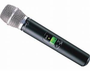 Shure Slx24  Sm86 Wireless Handheld Microphone System