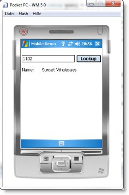 mobile device emulator connect a windows mobile device with dynamics ax erpcoder